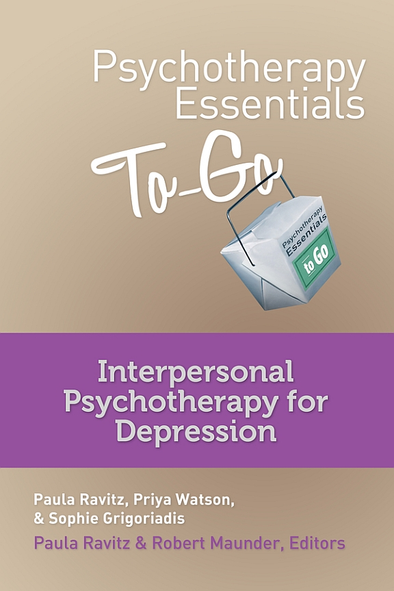 Psychotherapy Essentials To-Go: Interpersonal Therapy for Depression | Book & DVD with practice reminder card
